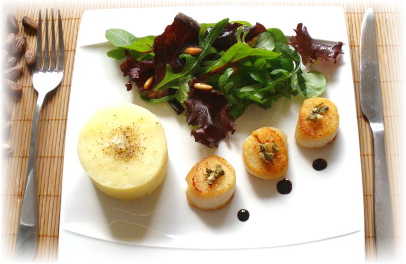 recette saint jacques
